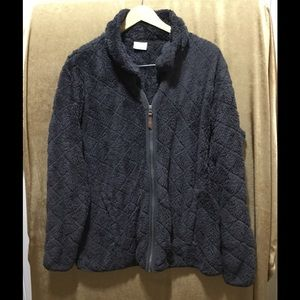 Columbia sports wear fuzzy jacket